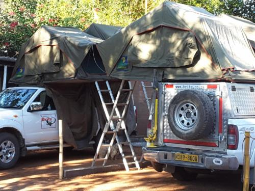 Self Drive Vehicle Camping Space
